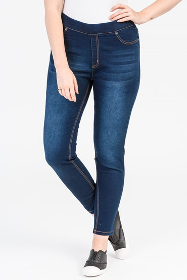 PULL ON SUPER STRETCH JEGGING