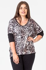 ANIMAL SEQUIN TOP - chocanimal