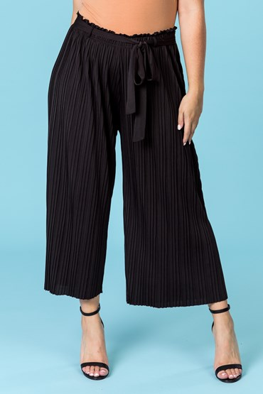 PAPER BAG WAIST PLEAT PANT