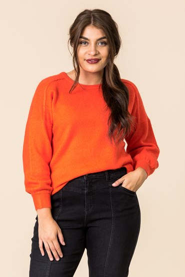 SHELLEY GATHER SLV JUMPER