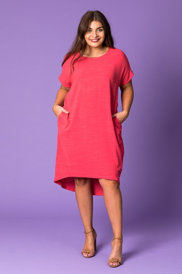 HI LOW LIBERTY DRESS
