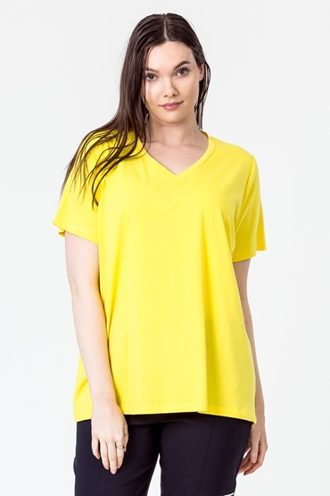 VEE NECK T SHIRT