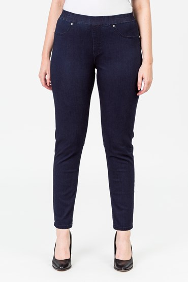 PULL ON JEGGING BUTTER DENIM
