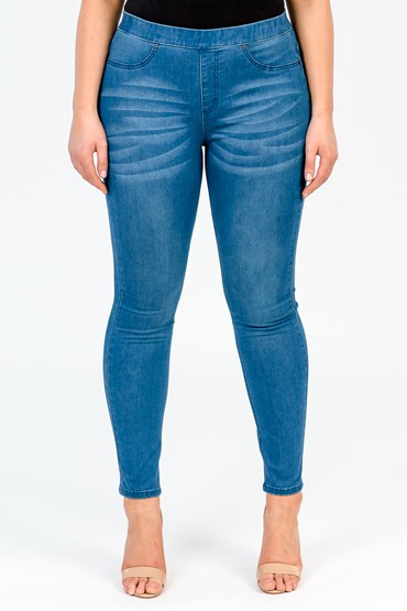 PULL ON JEGGING POWER STRETCH