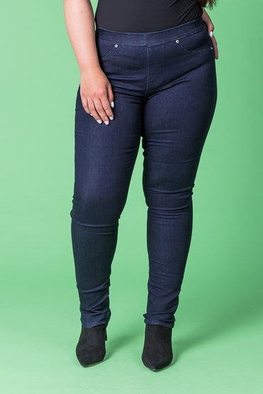 BUTTER DENIM PULL ON JEGGING