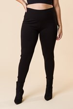 SUPER SLIMMER LEGGING - black
