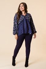 SUPER SLIMMER LEGGING - navy