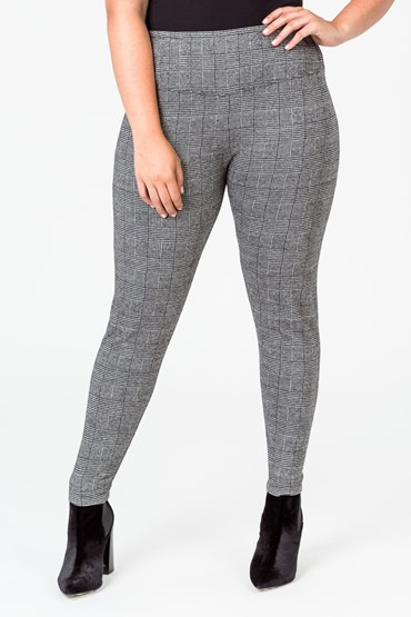 SUPER SLIMMER CHECK PANT
