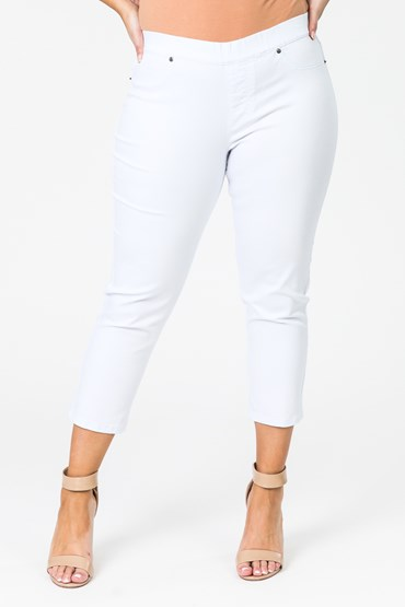 PULL ON SUPER STRETCH CAPRI