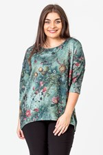 ENCHANTED FOREST DOLMAN TOP - forest