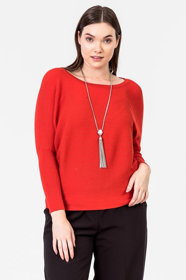DOLMAN SLEEVE JUMPER