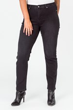 LW STRAIGHT LEG ULTIMATE JEAN - black