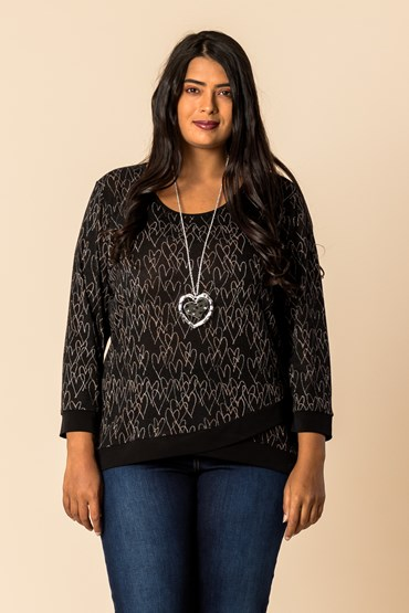 CROSSROADS CONTRAST TOP