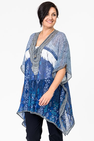 LONG SQUARE KAFTAN