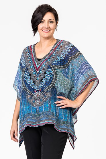 SHORT SQUARE KAFTAN