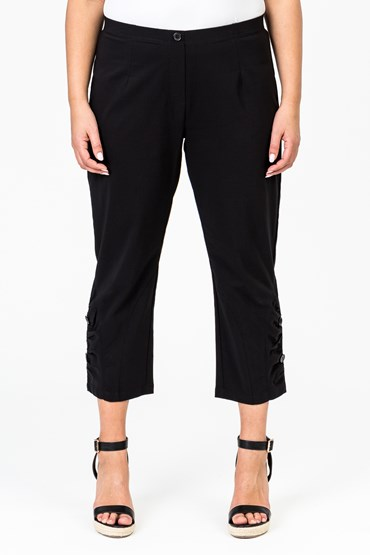 CURVE GATHER HEM PANT