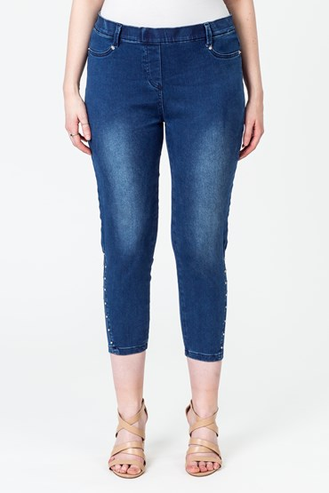 ULTRA SOFT RIVET ANGLE JEAN