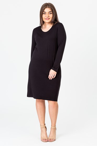 ROUND NECK LONG TUNIC