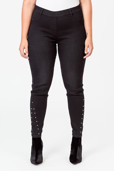 ULTRA SOFT RIVET JEGGING