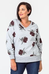 THE FLORAL EDIT SWEAT