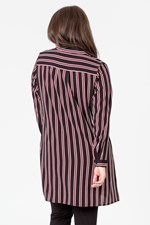 VERTICAL LIMIT STRIPE SHIRT - redblkstp