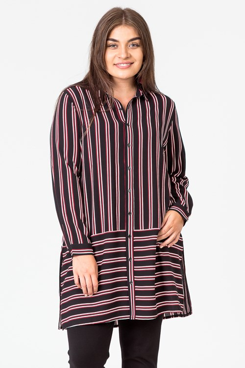 VERTICAL LIMIT STRIPE SHIRT