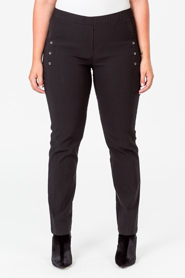 BUTTON SIDE DETAIL PANT