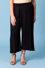 POOL SIDE PANT - black