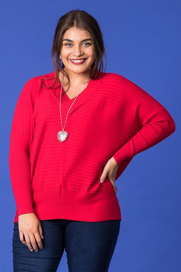 WEEKEND RIB VEE JUMPER