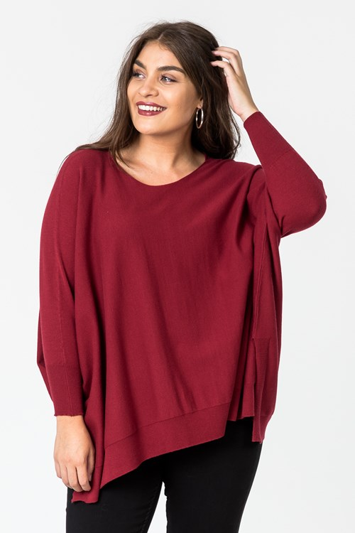 COSY PONCHO JUMPER