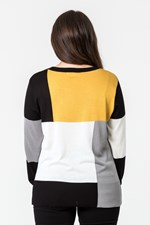 BLOCK PANEL JUMPER - blkivmust