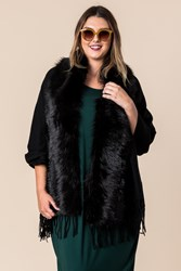 FAUX FUR COLLAR WRAP