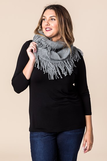 FRINGE SNOOD