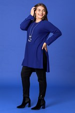 STEP DOWN HEMLINE JUMPER - amaroblue