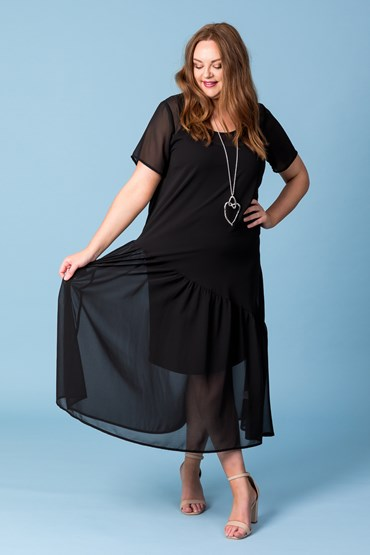 MIA ASYMMETRICAL DRESS